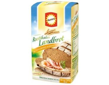 Aurora Rustikales Landbrot Brotbackmischung 500g
