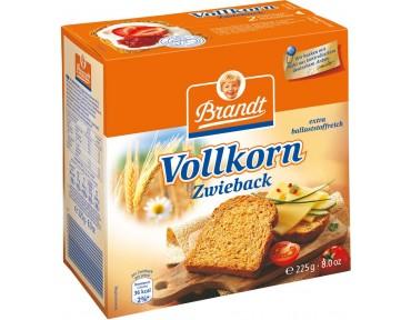 Brandt Vollkorn Zwieback 225g