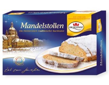 Dr. Quendt Mandelstollen 1kg