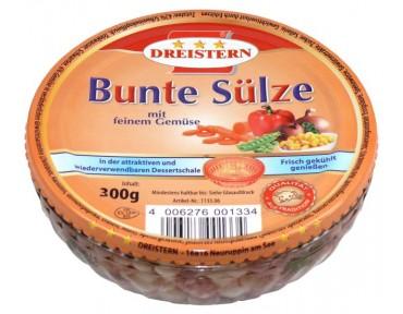 Dreistern Bunte Sülze 300g