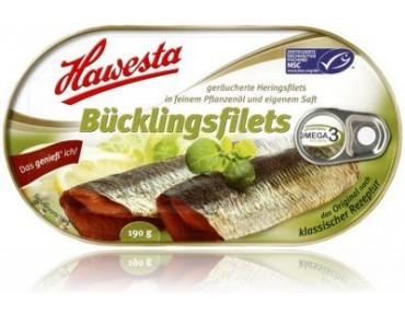 Hawesta Bücklingsfilets 190g