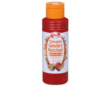 Hela Tomaten Gewürze Ketchup 300ml
