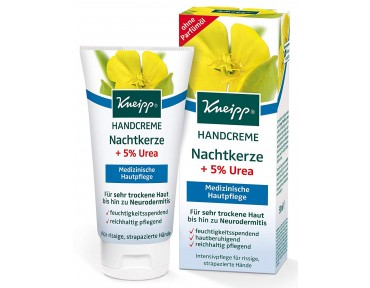 Kneipp crème pour les mains à base d'onagre +5% Urée 50ml