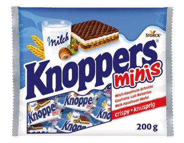 Knoppers Minis 200g