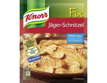 Knorr Fix für Jäger-Schnitzel