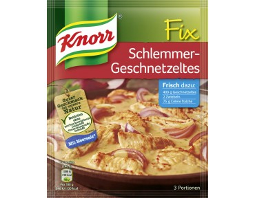 Knorr Fix für Schlemmer-Geschnetzeltes