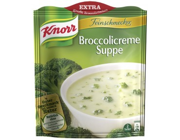 Knorr Feinschmecker Broccolicreme Suppe