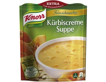 Knorr Feinschmecker Kürbiscreme Suppe