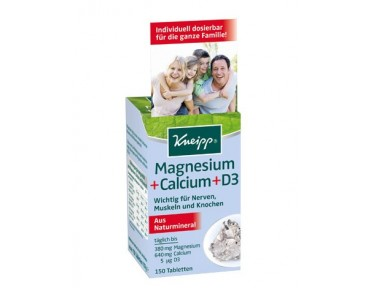 Kneipp Magnesium Calcium D3 en cachet àcroquer