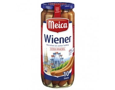 Meica 10 Wiener Würstchen 500g