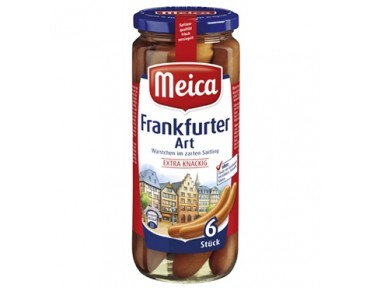 MEICA 6 Frankfürter 250g