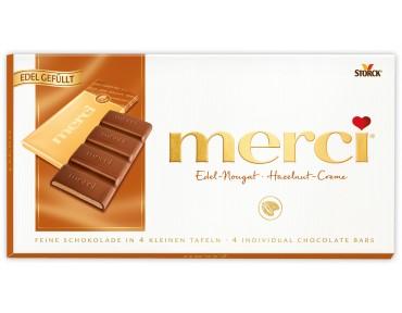 Merci Edel-Nougat Tafelschokolade 100g