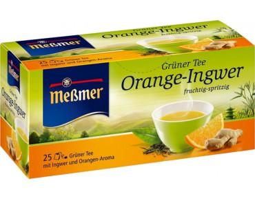 Messmer grüner tee orange ingwer