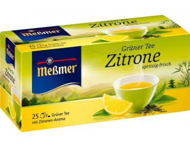 Messmer Grüner Tee Zitrone