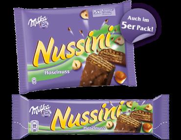 Milka Nussini x5