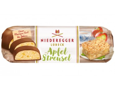 Niederegger Marzipan Brot Apfel-Streusel125g