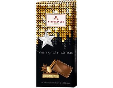 Niederegger chocolat de Noël 110g