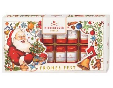 Niederegger Marzipan Klassiker Im Weihnachtsschuber 200g