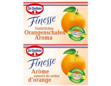 Oetker Zeste d'orange râpée Finesse