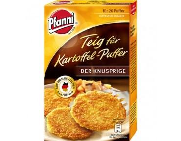 Pfanni Teig für Kartoffel Puffer mit rohen Kartoffeln