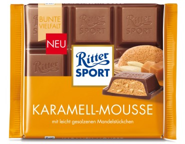 Ritter Sport mousse caramel