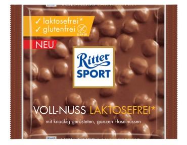 Ritter Sport Chocolat au lait sans lactose et noisettes