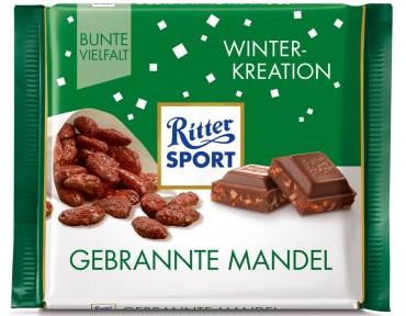 Ritter Sport Winter-Kreation Gebrannte Mandel