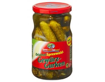 Spreewald-Feldmann Gewürzgurken 720ml