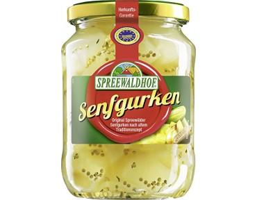 Spreewaldhof Senfgurken 720 ml