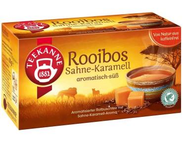 Teekanne Rooibos Sahne-Karamell