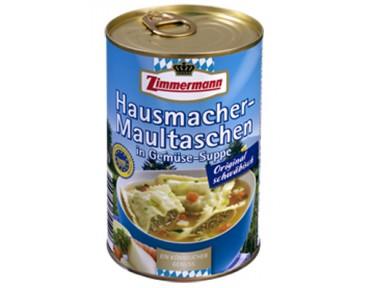 Zimmermann Hausmacher Maultaschen Suppe
