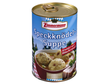 Zimmermann soupe de knödel au lard