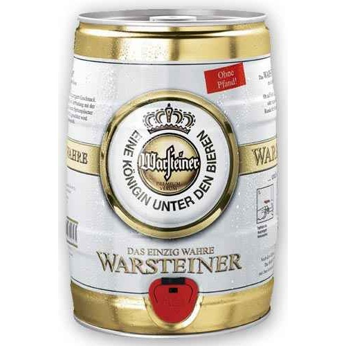 bi re warsteiner f t de 5 litres. Black Bedroom Furniture Sets. Home Design Ideas