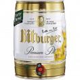 Bitburger Premium Pils fût de 5 L