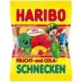 Haribo Frucht Und Cola Schnecken 175g