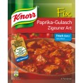 Knorr Fix für Paprika-Gulasch Zigeuner Art