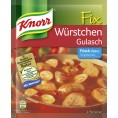 Knorr Fix für Würstchen Gulasch