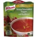 Knorr Feinschmecker Strauchtomaten Suppe mit Basilikum