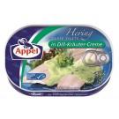 Appel Heringsfilets in Dill Kräuter Creme 200g