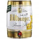 Bitburger fût de 5 litre