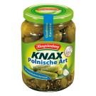 Hengstenberg KNAX Gewürzgurken Polnische Art 720 ml