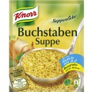 Knorr Suppenliebe Buchstabensuppe
