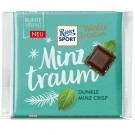Ritter Sport Winter-Kreation Minztraum Dunkle Minz Crisp