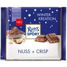 Ritter Sport Winter-Kreation Nuss + Crisp