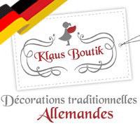 Décorations de Noël Allemandes traditionnelles