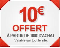 10€ offert