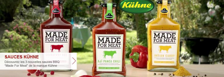 sauces Kühne Made for Meat