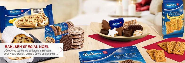 Produits de Noël Bahlsen