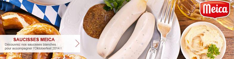 Saucisses Blanches de Bavière